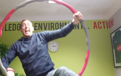 Hula-hooping for self confidence…