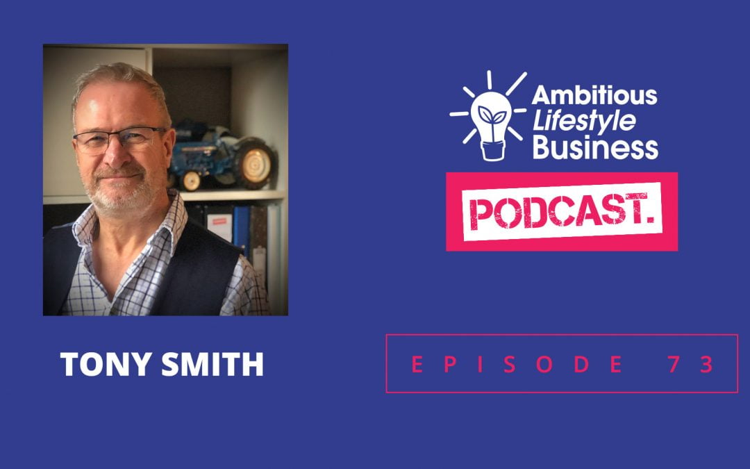 #ALB73 – The man who keeps people connected….. Tony Smith
